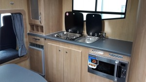 Endeavour kitchen area
