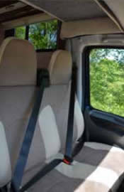 Evolution cab seating