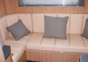 Valiant Five seating area