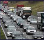 3rd lane of motorway